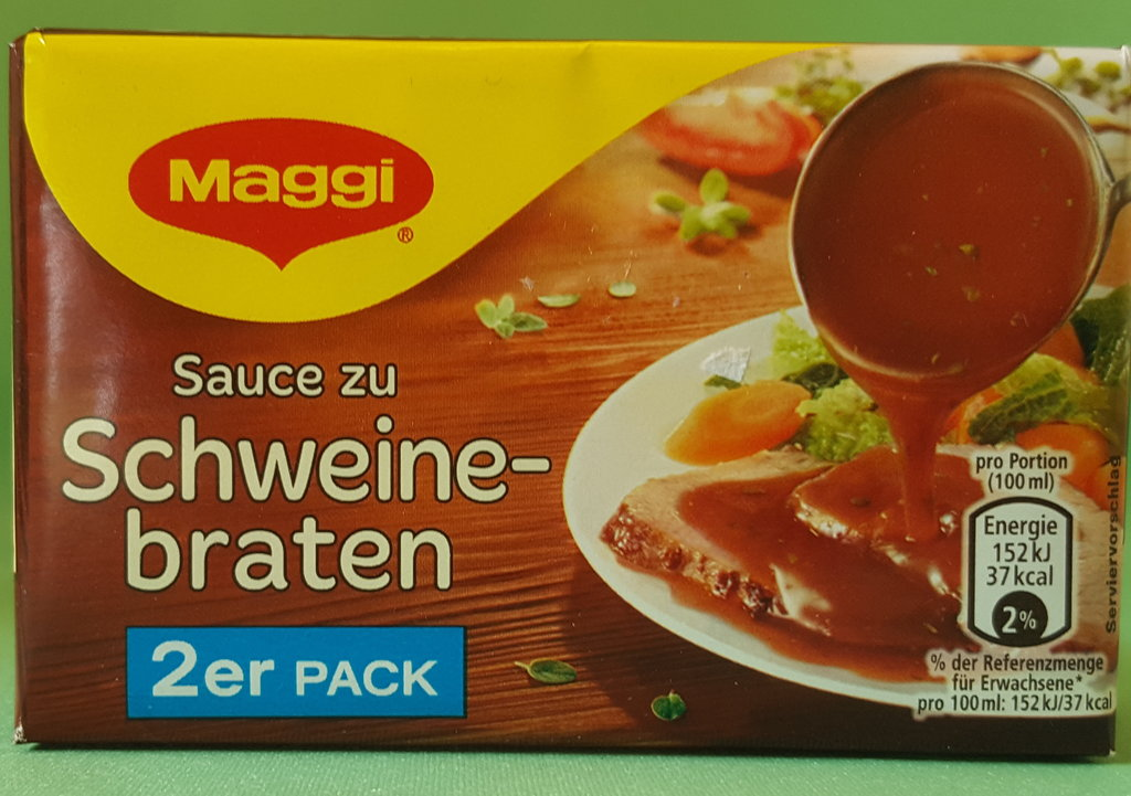 Sauce Für Schweinebraten : maggi sauce zu schweinebraten f r 2 x 250 ml b rel dl ~ Yuntae.com Dekorationen Ideen