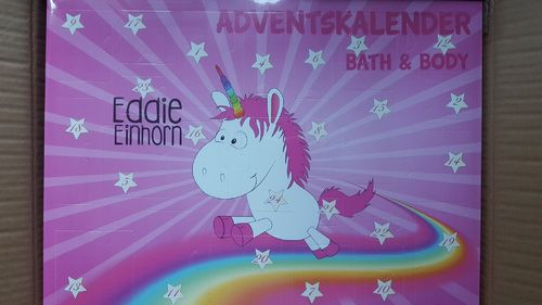 Eddie Einhorn Adventskalender Bath & Body