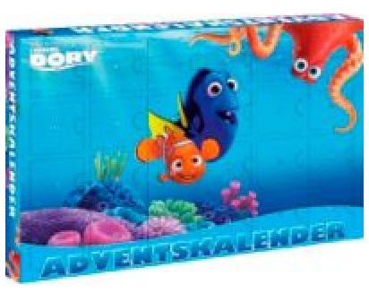 Adventskalender *Finding Dory*